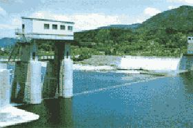 馬越頭首工(会津若松市)